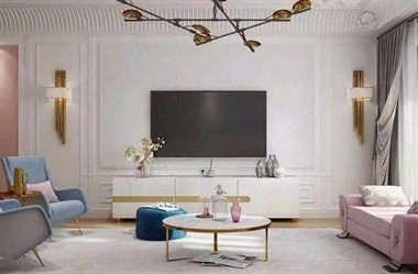 越来越多人客厅装这种电视墙,实用又省钱,看完直接回家做一个