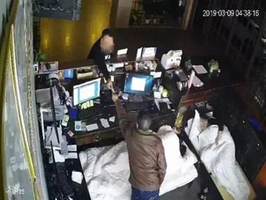 凌晨4点!台州某酒店女前台熟睡时,一男子偷偷地爬了进来…