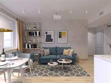 小夫妻装修80平米三居室 预算有限但成果卓然