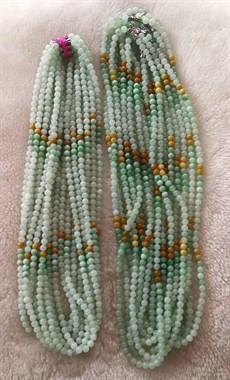 缅甸玉翡翠珠子项链 手链 手串