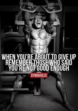 健身,当你练不下去的时候……