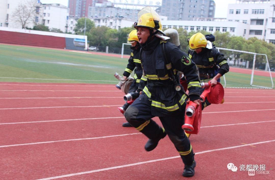 瓷都消防员这些事迹也同样动人!愿每次救援平安归来