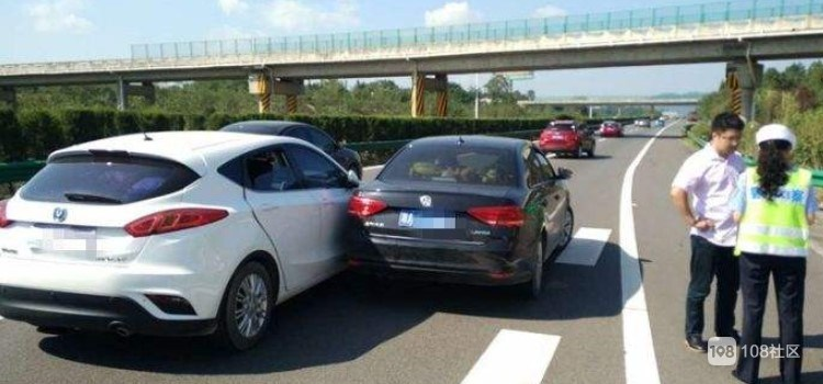 感谢好心大哥没有追究责任 以后开车一定小心!
