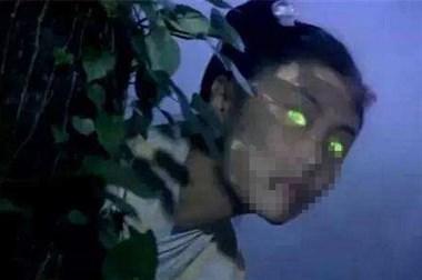 床铺猛烈摇晃以为地震!惊醒,黑暗中一双泛绿的眼睛死盯着他