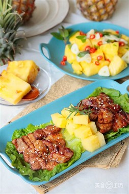 菠萝有100种吃法,但这种你一定没试过!