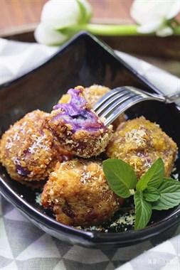 紫薯还只会蒸着吃?这样做好吃还补钙