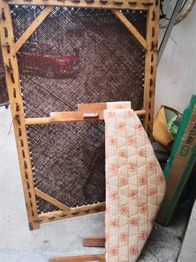 【转卖】出售1.5米粽绷床一套!80元!