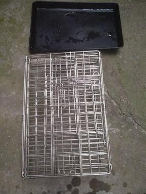 【转卖】转让304不锈钢笼长46宽30高40