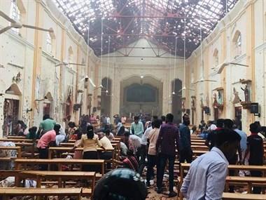 斯里兰卡连环爆炸!已致160人死亡,4名中国公民受伤