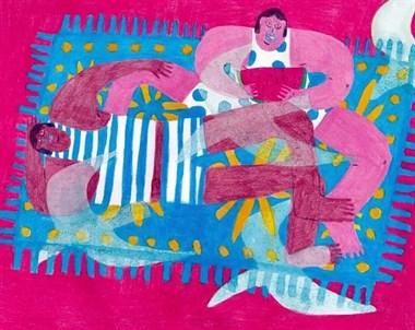 舟山80后美女32岁从国企辞职学画用了两年入葡萄牙插画奖