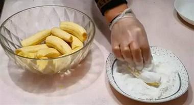 香蕉新吃法,3分钟就能学会,隔壁的小朋友都被馋哭啦!
