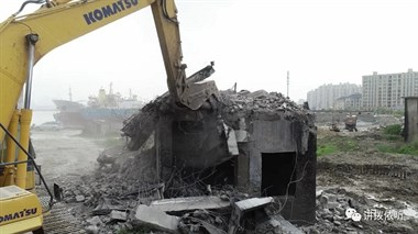 2500平米违建红白喜事临时房将拆除长峙岛这块地将建成