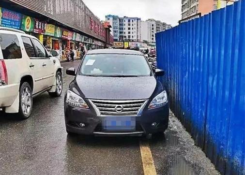 """施工路段停车也算违停?在春晖街这里差点""""中招""""!"""