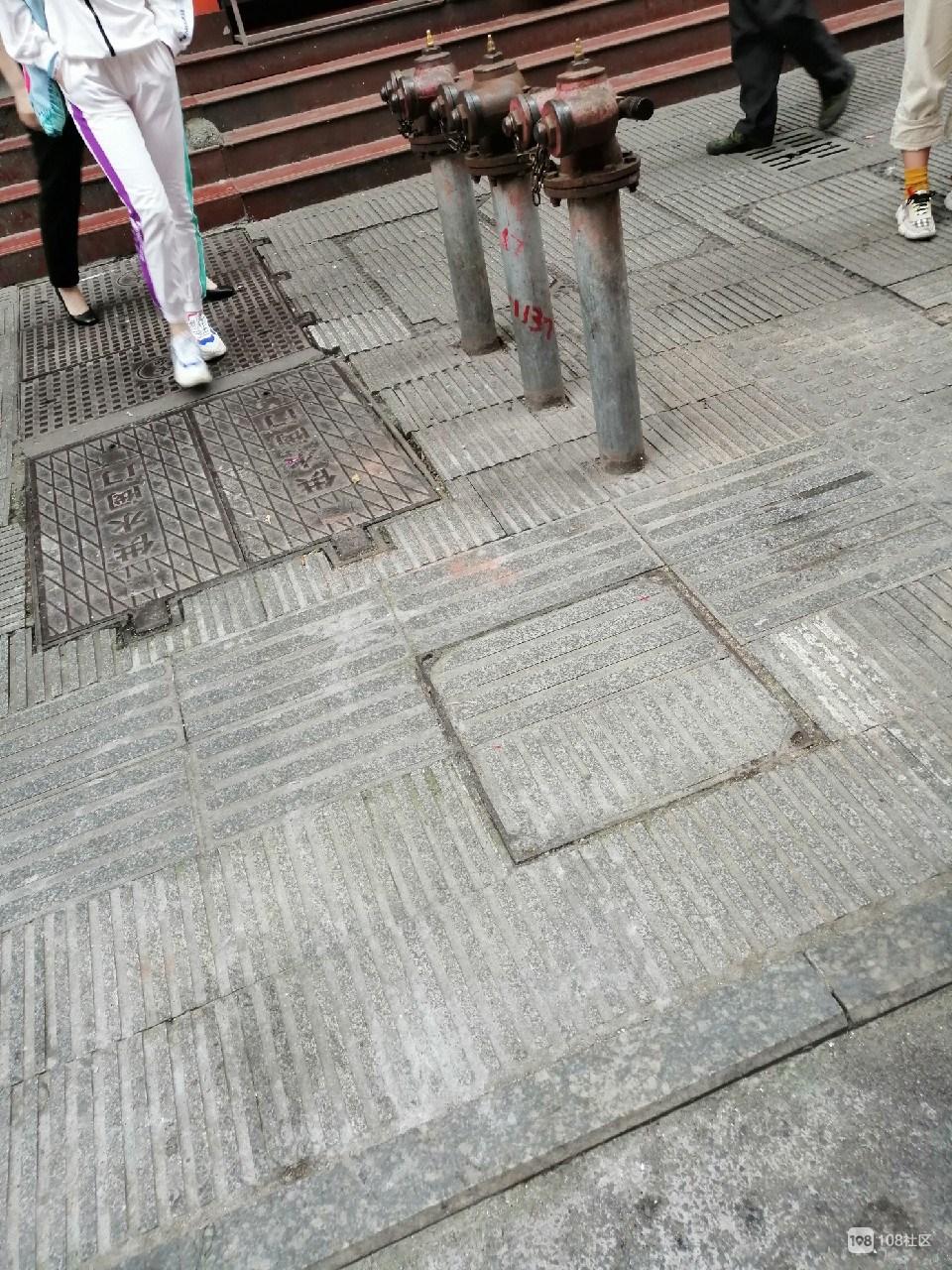 南平仨拦路虎杵在人行道影响交通,社友却纷纷为它点赞