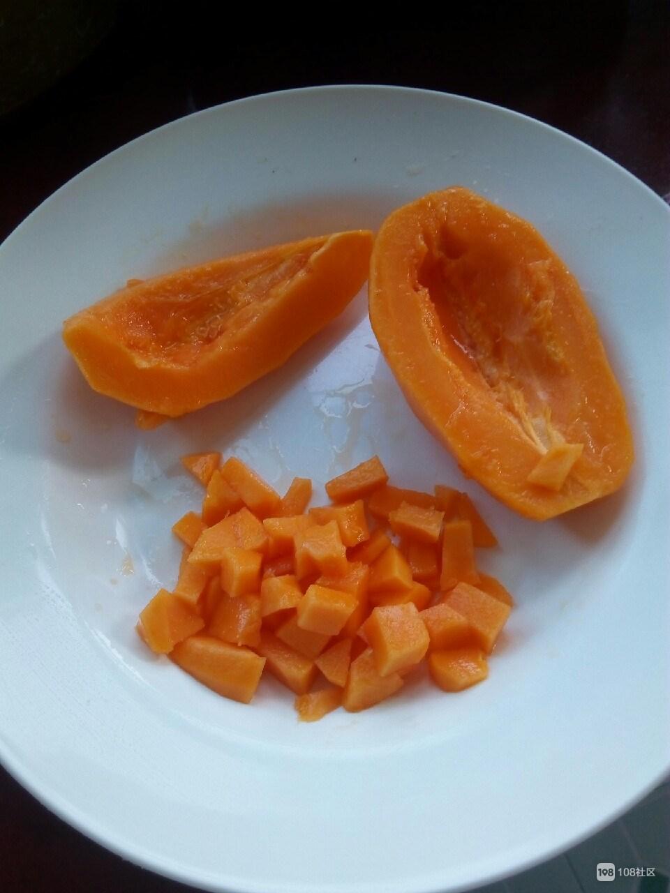 这东西搭配水果对肠胃好!社友:家里的菜都没法吃了