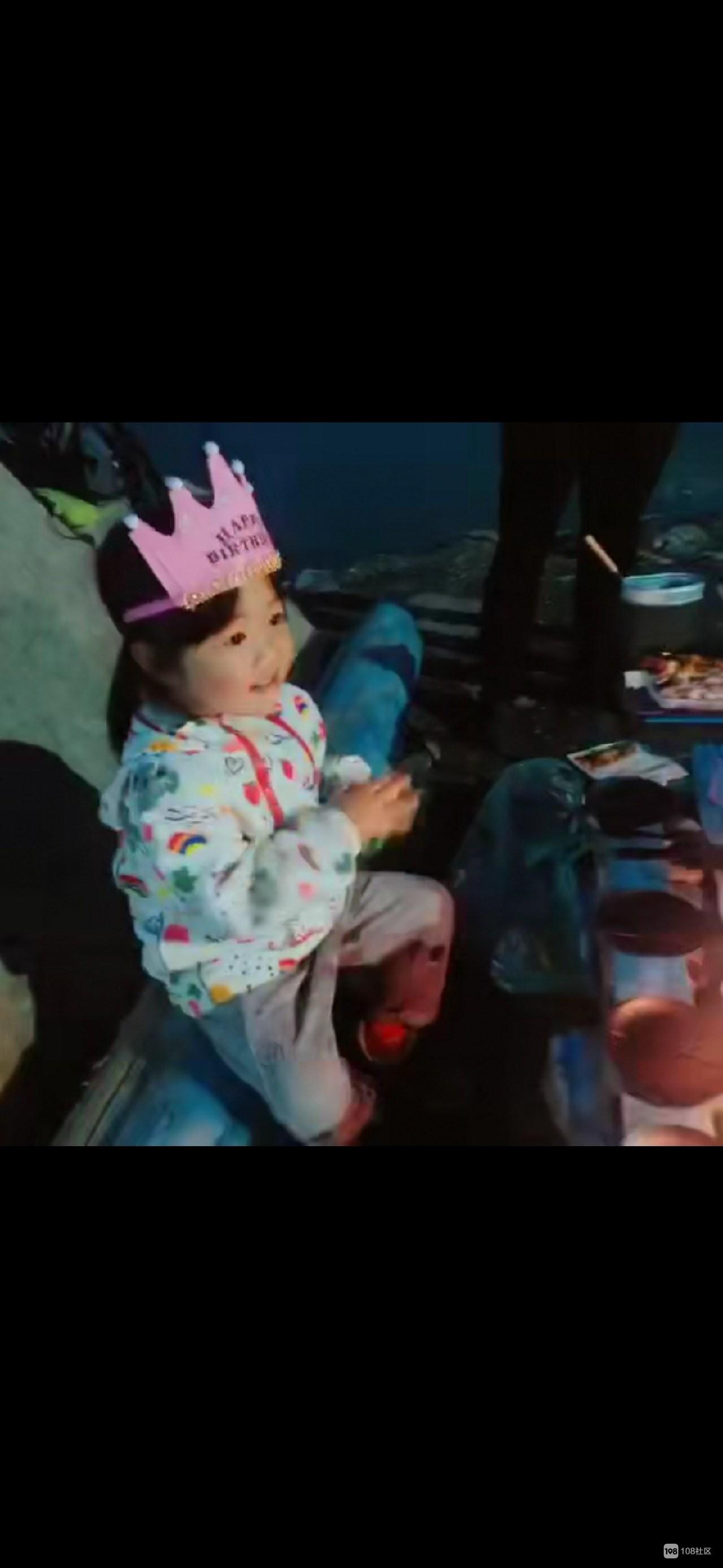 少女的第一次露营