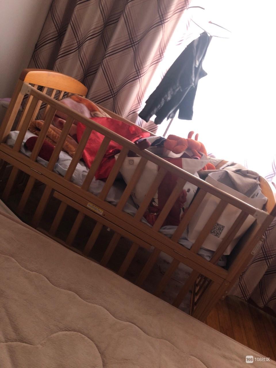 【转卖】婴儿床
