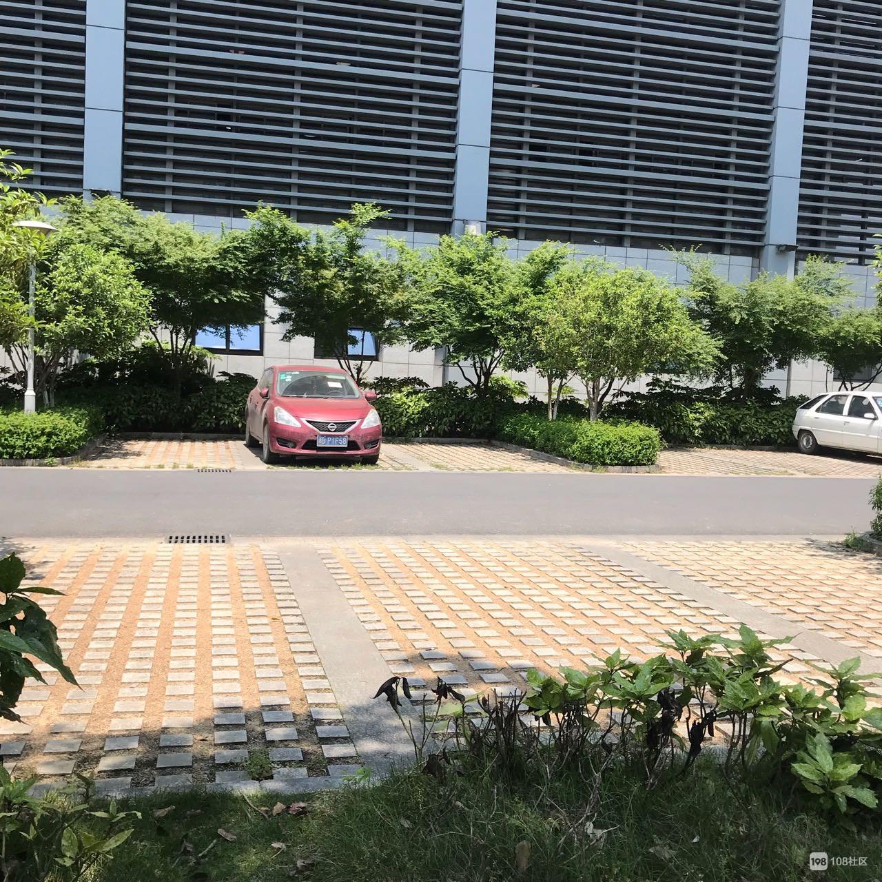 体育中心正在整顿!德清老司机想进去停车,千万注意别被贴