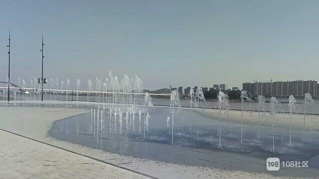 定海又添一个好去处!音乐喷泉景点波光水色 美不胜收