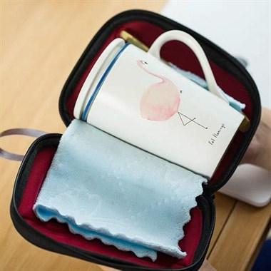 旅行套装水杯,蓝鲸鱼,火烈鸟,EVA盒子包装