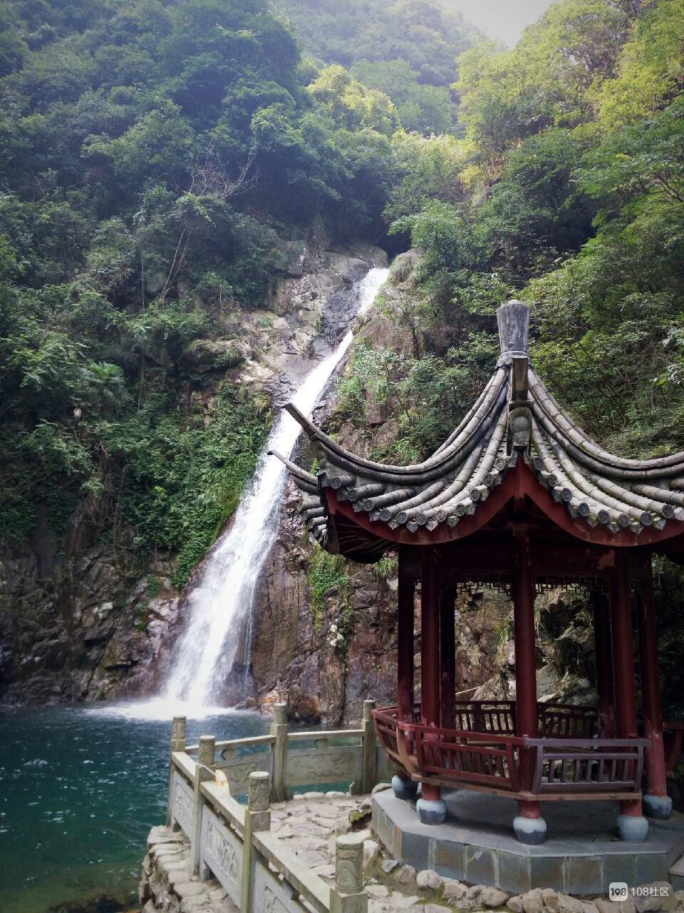 第一次一个人的旅行——宁波五龙潭