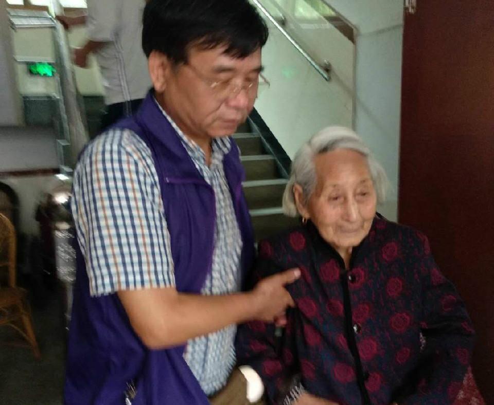 今天是520,我和百岁老太来了场最浪漫的约会
