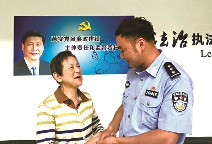 比我儿子还要好!杭州老太被骗800万,嵊州民警追回救命钱