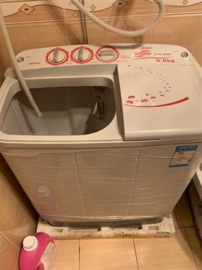 【转卖】美的半自动洗衣机