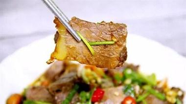 最适合夏天的牛肉做法,香辣开胃味道独特,一盘都不够吃