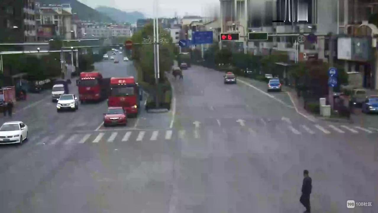 悲剧!衢州男子惨遭货车碾压身亡,监控拍下全过程