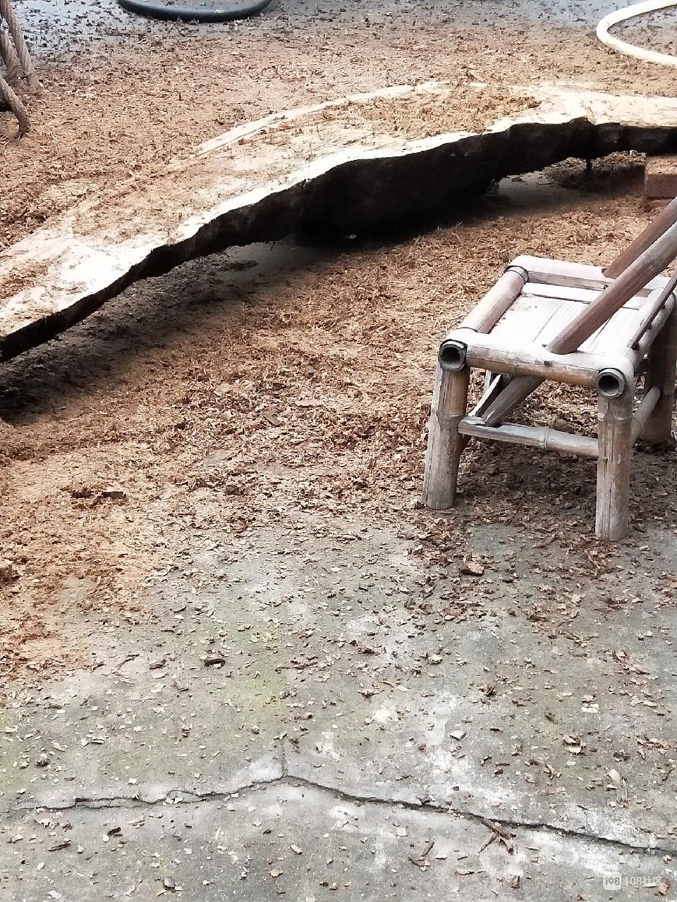 我的处女作:一块破烂不堪的木头,摇身一变成了茶台!