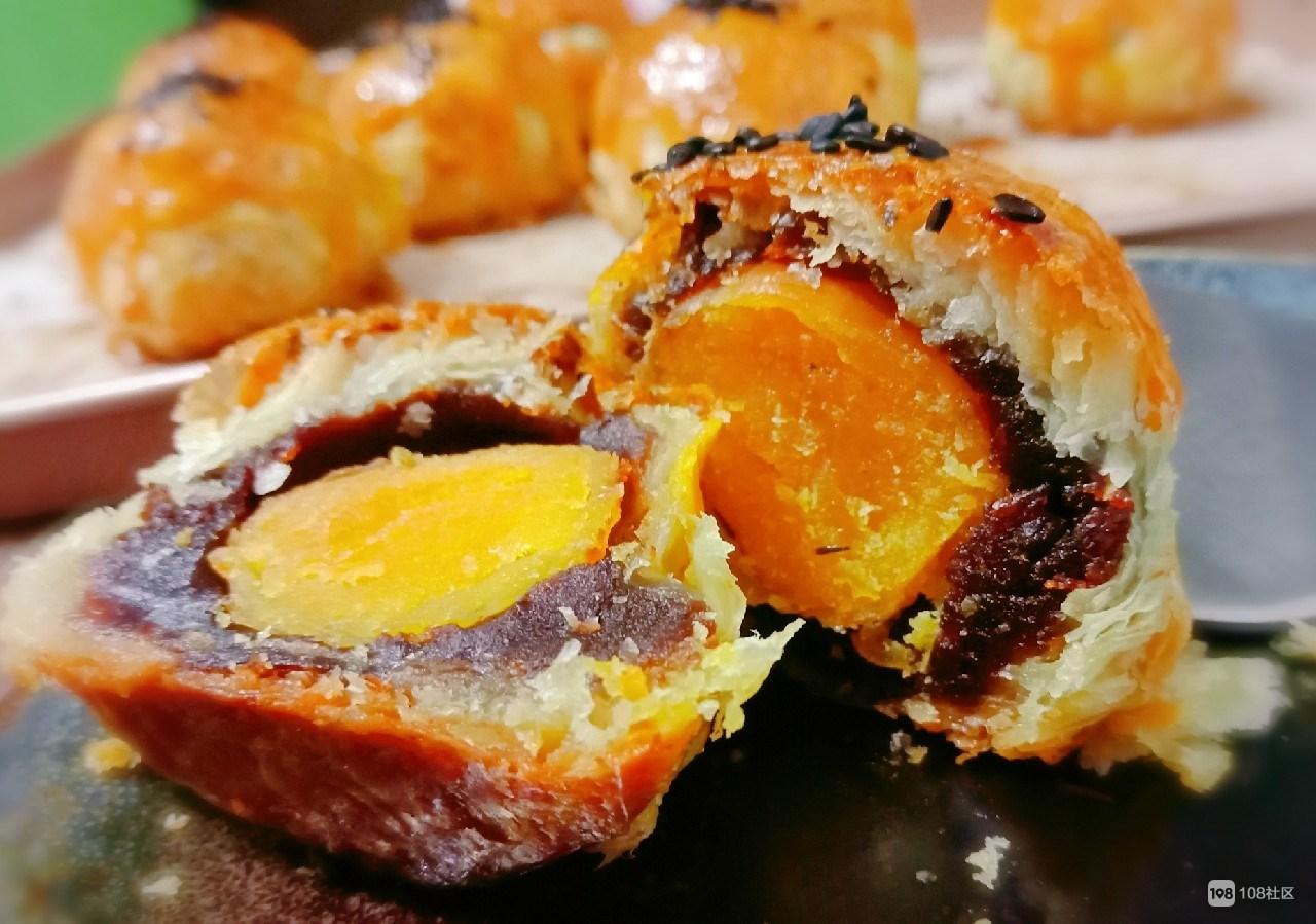 你有粽子我有蛋黄酥,蛋挞皮里的金黄酥脆,你爱上了吗