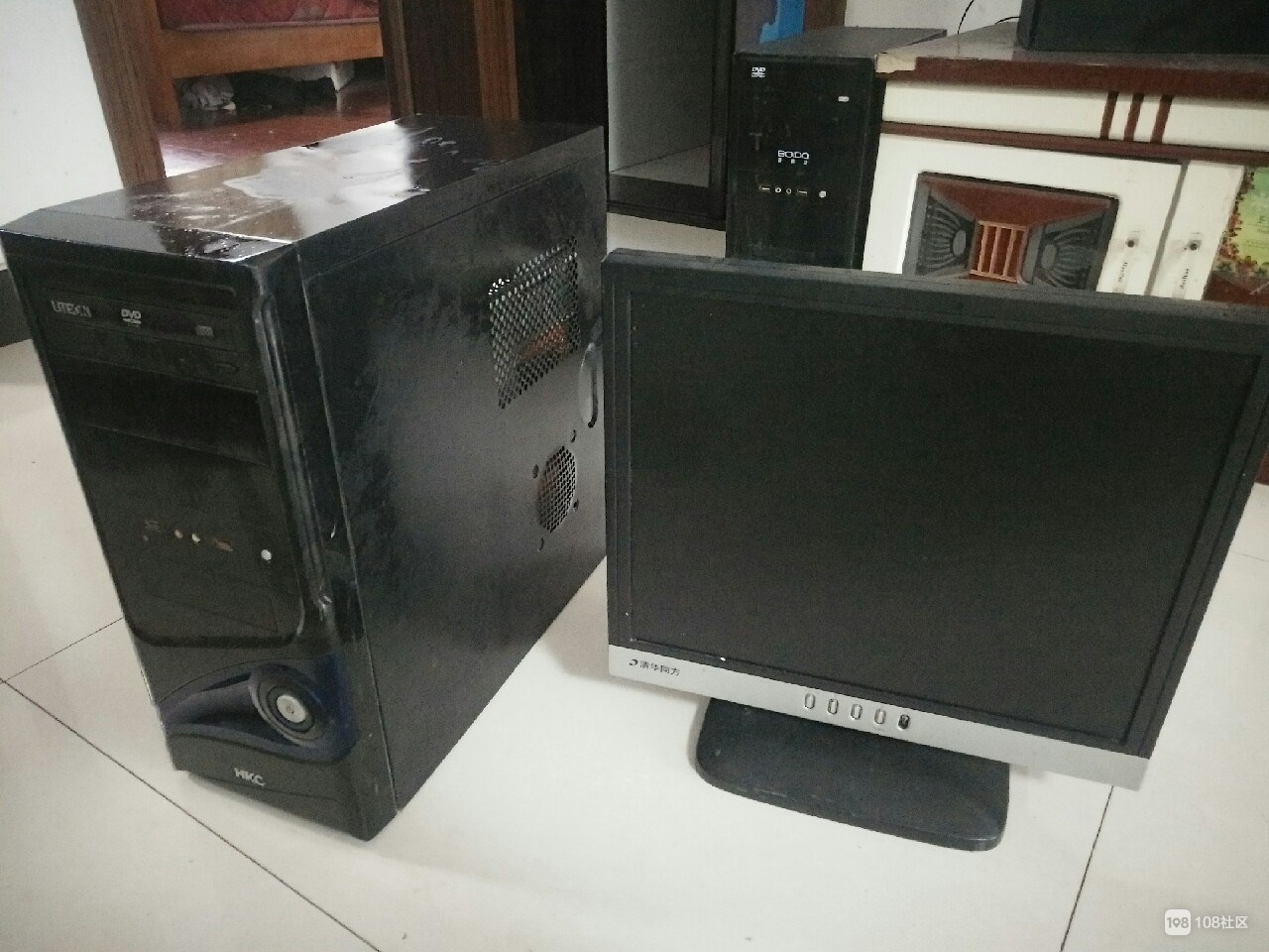 【转卖】电脑主机和显示屏
