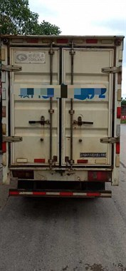 【转卖】13年福田箱式小货车,带空调