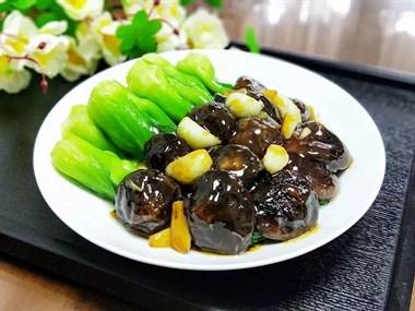 香菇菜心——菜嫩菇滑,比吃肉还过瘾!