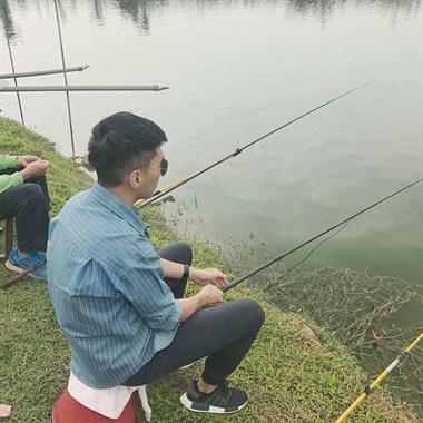 原来钓鱼是件这么有成就感的事情!崽哩子一下午掉了这么多!