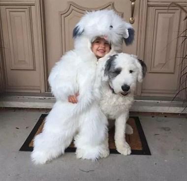 狗子看着刚出生的小主人:为啥长得不像我呢?!