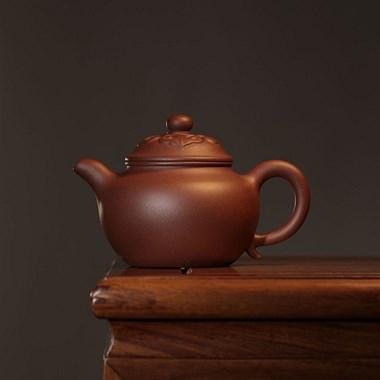 【转卖】紫砂:「如意莲子壶」