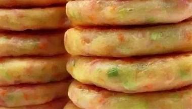 土豆的新颖吃法,烧饼的模样,40秒就出锅,一周做三次每次不够吃