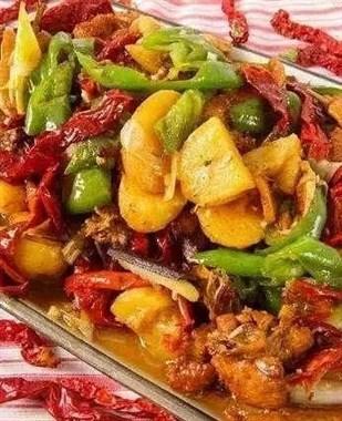 家常版新疆大盘鸡,做法简单,香辣过瘾特好吃,省钱又卫生!
