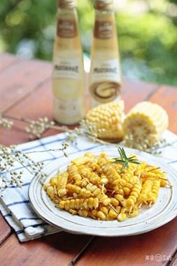 玉米不用啃,串一串,比爆米花还香!