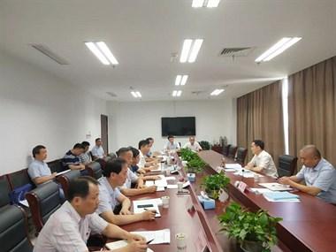 今天孙哲君副市长踏勘马拉松线路 研究景观提升和花海建设