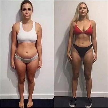 坚持健身一年,身材会发生什么改变?