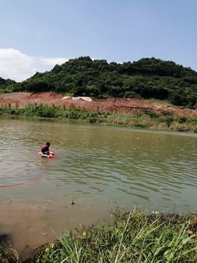 警方回复!丁家园网红地落水男孩溺亡,已被打捞上岸