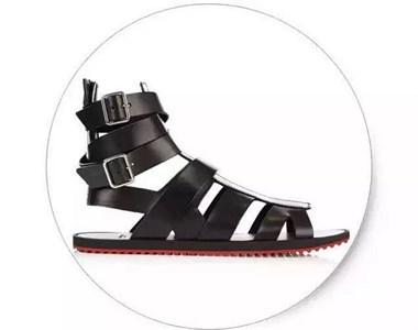 炎炎夏日,男人的凉鞋也有各种花样