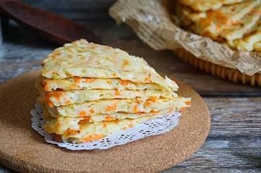 让孩子爱上吃胡萝卜的鸡蛋饼,早餐吃它营养好做!