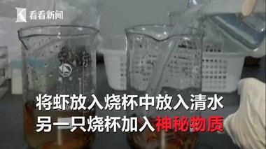 丧良心!不法商贩竟用洁厕液洗小龙虾,若食用将伤及免疫系统