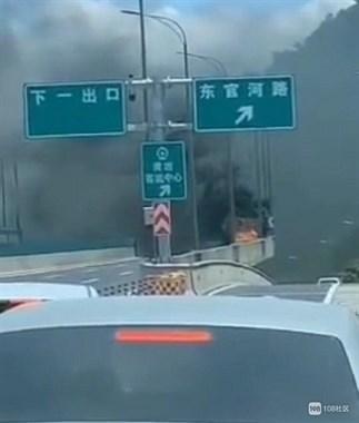 天气热,车自燃了