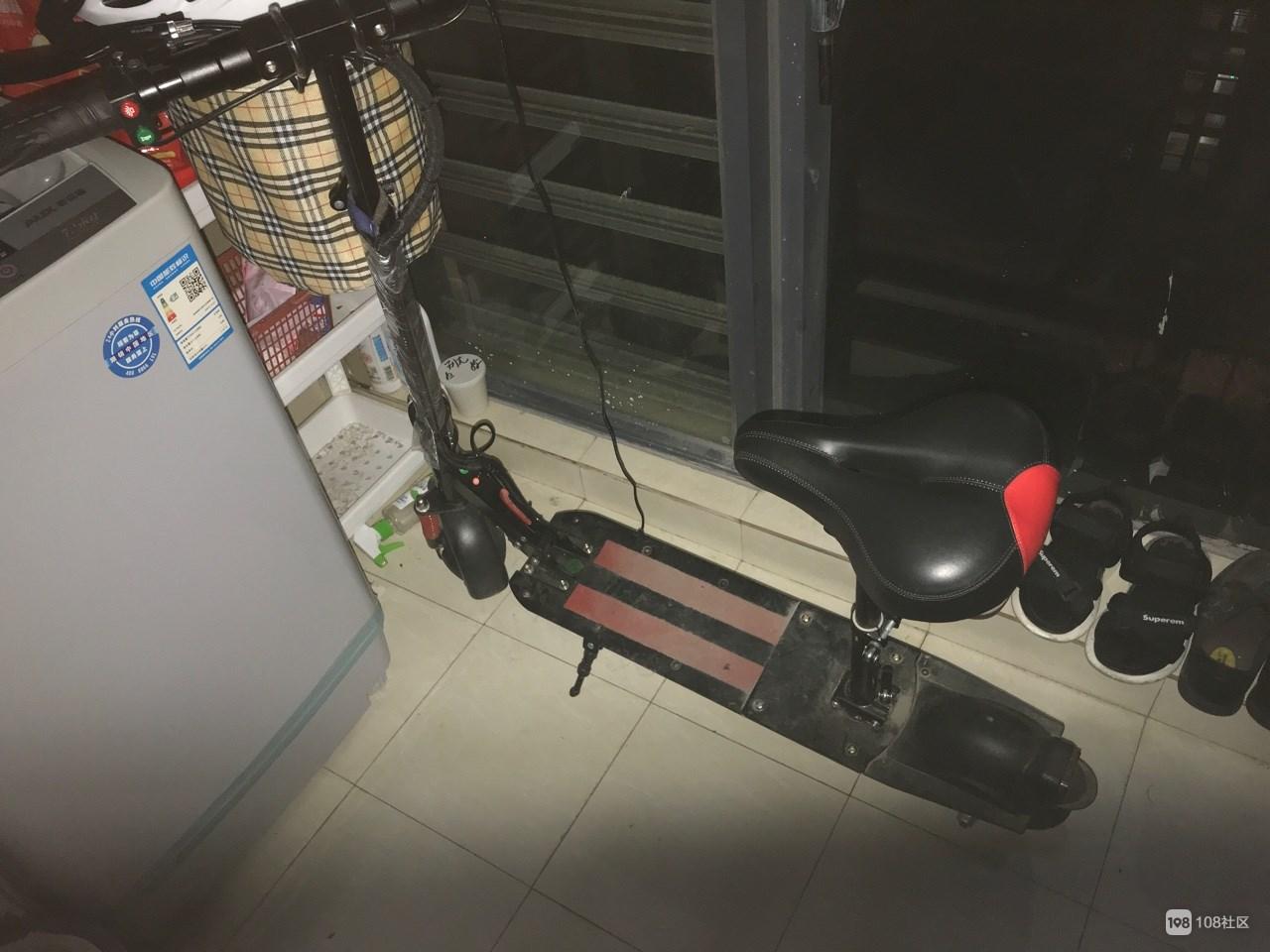 【转卖】折叠电动踏板车