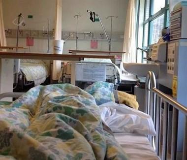 半夜被咬醒!感觉医院床单有问题,德清社友不敢做这大胆决定